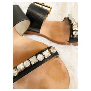 Kate Spade - Jewelled Leather Sandals sz. 10